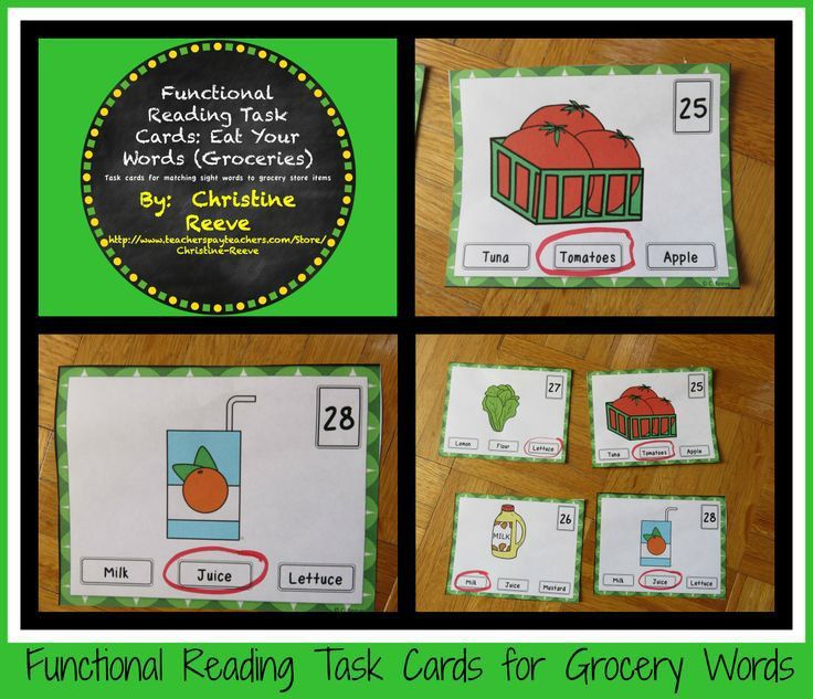 21 best Life Skills-Grocery images on Pinterest | Autism classroom ...