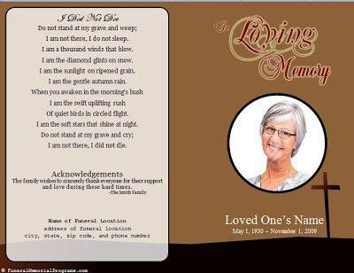 The Funeral-Memorial Program Blog: Catholic Funeral Mass Program ...