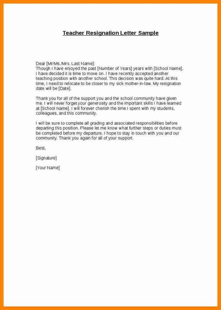 Die 25+ besten Letter for resignation Ideen auf Pinterest ...
