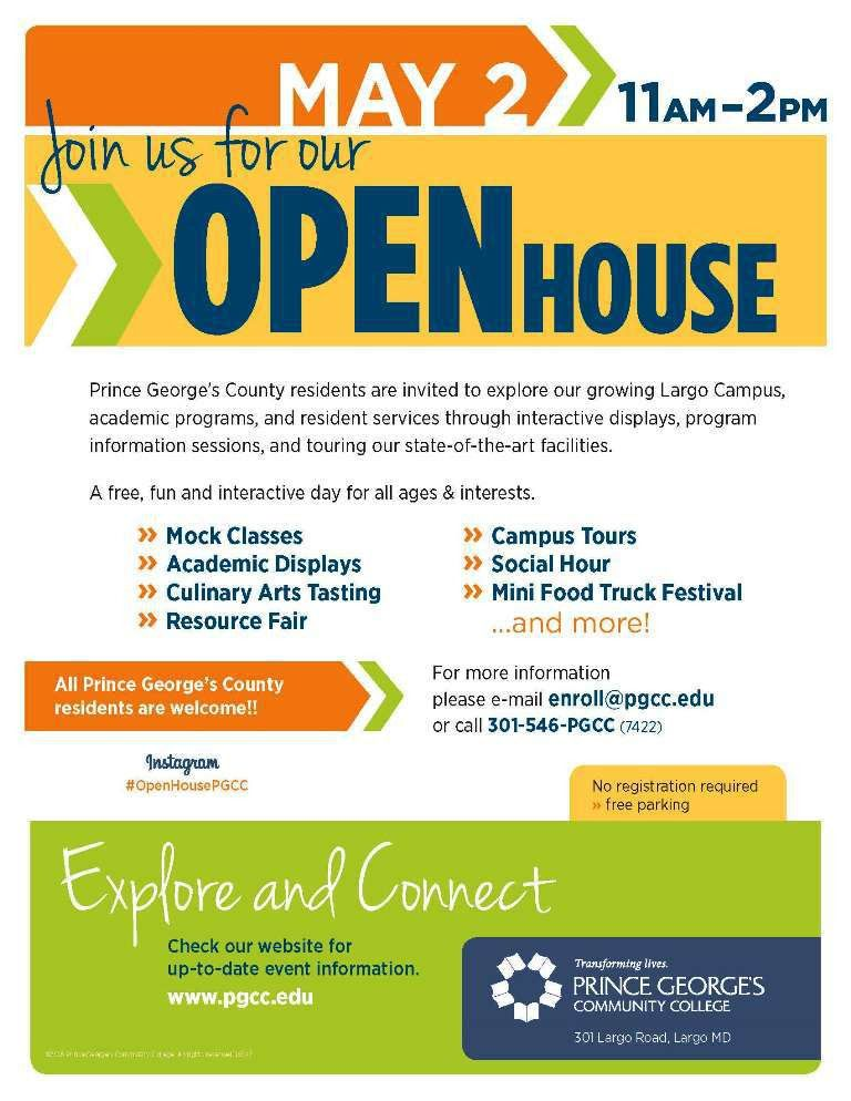 Prince George's Community College :: Open House