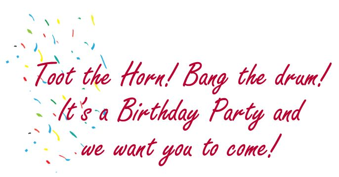 Birthday Invitation Clipart