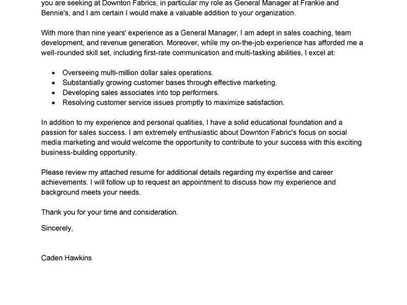 Wonderful Design Generic Cover Letter 16 Leading Professional ...