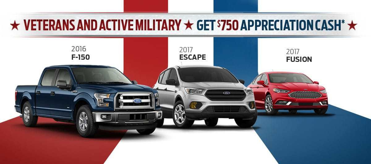 Porter Ford Military Discounts | Ford Dealership in Newark, DE