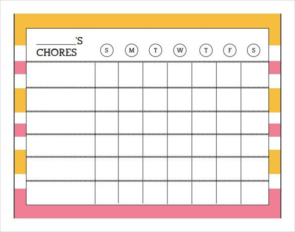 Sample Chart - 26+ Documents In PDF, Word