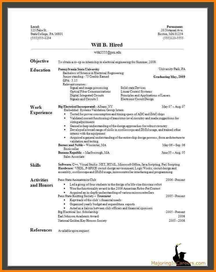 Perfect Resume Az | Samples.csat.co