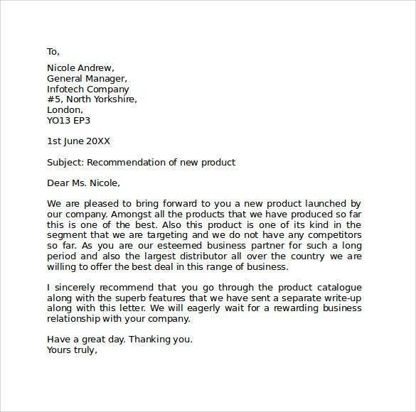 Sample Business Letter. Formal Business Letter Sample Formal ...