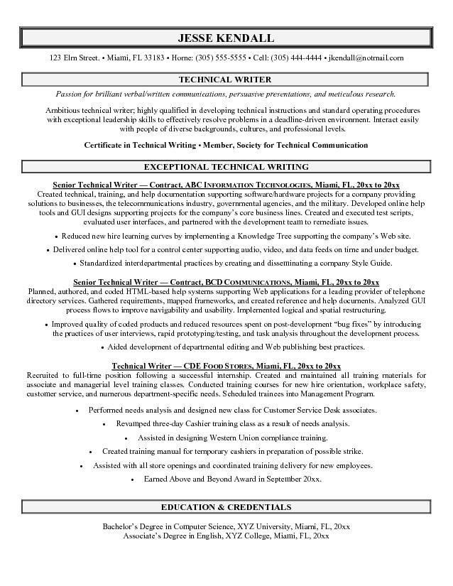 Download Writing Sample Resume | haadyaooverbayresort.com