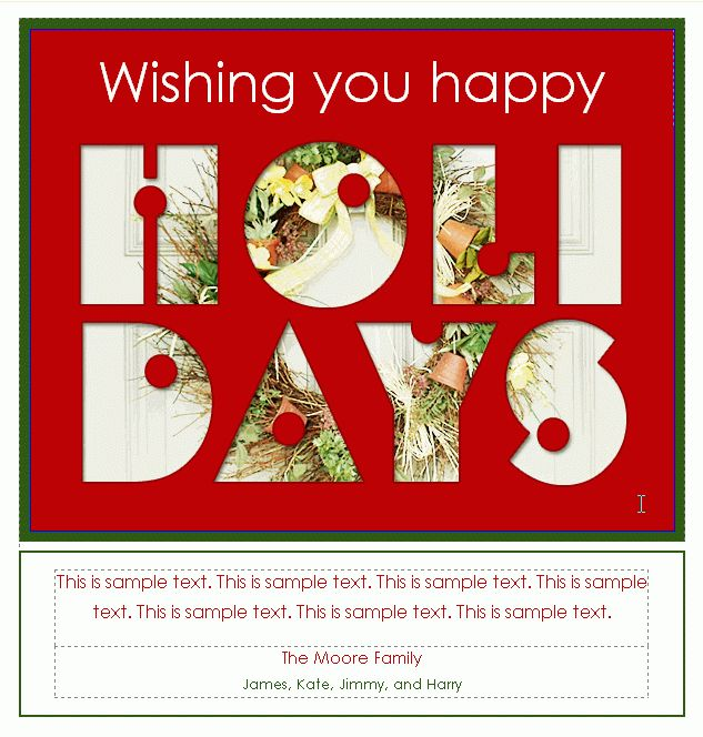 364 Free Holiday Email Templates Available