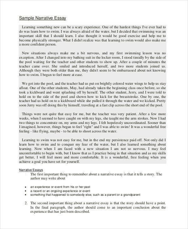22+ Free Essay Examples