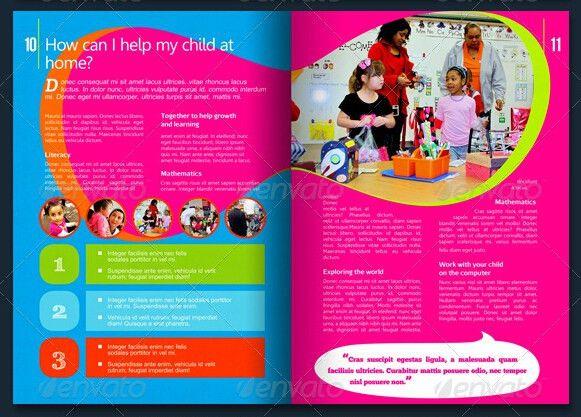Kindergarten Brochure Template–10 Free PDF, PSD, AI, Vector Format ...