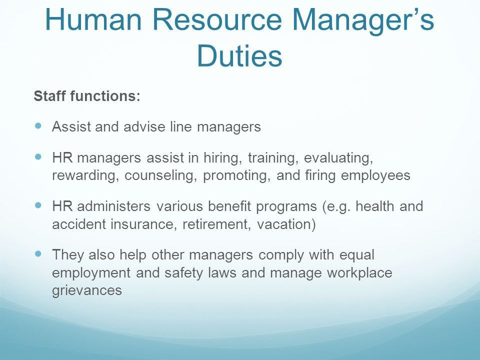 Human Resources Management - ppt video online download