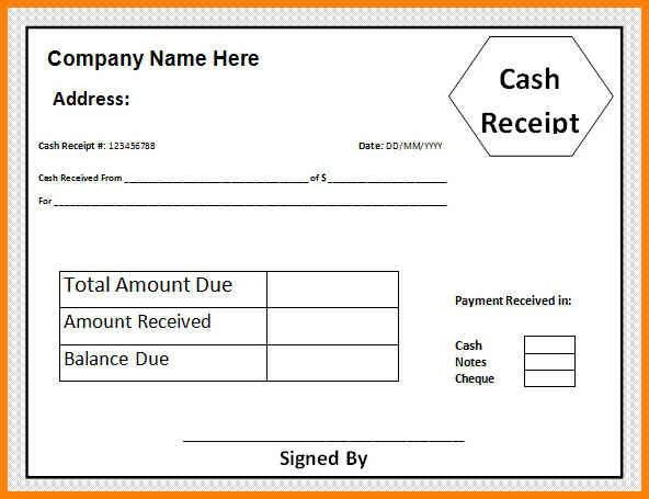 8+ cash payment receipt sample | cashier resumes
