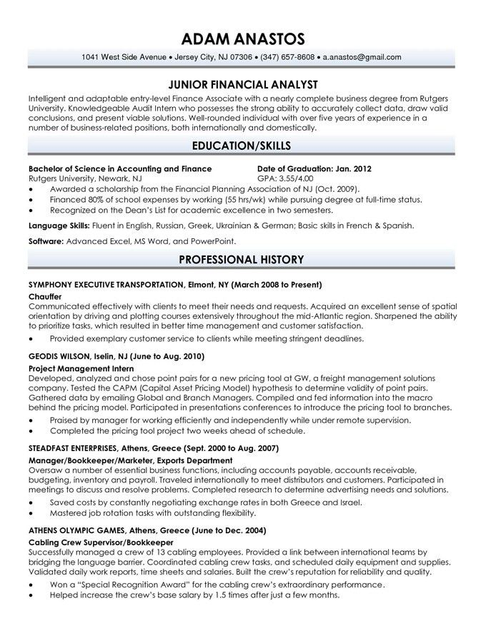 Resume examples for jobs with experience - Buy A Essay For Cheap