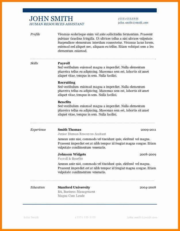 7+ free resume samples | budget template
