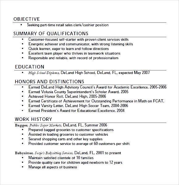 resume objective for summer job unforgettable summer teacher