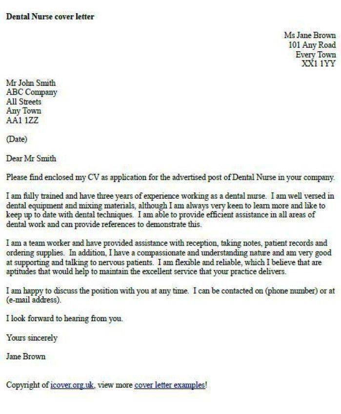 Uk Covering Letter