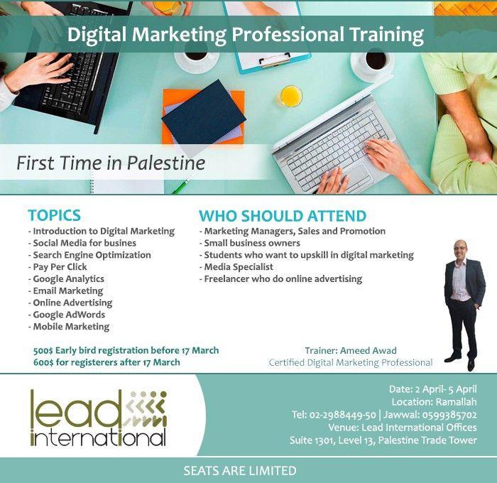 Lead International - Professional Digital Marketing Training