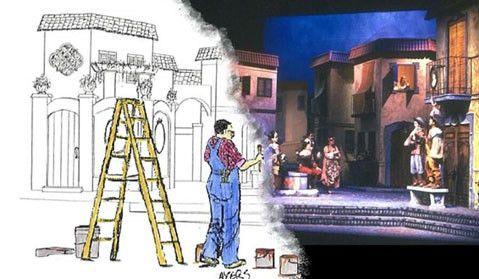 SCENIC DESIGNER: PRODUCTION TEAM JOB DESCRIPTION - Lewis Ce...