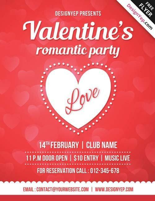 20+ Free Valentine's Day Flyer Templates - Tutorial Zone