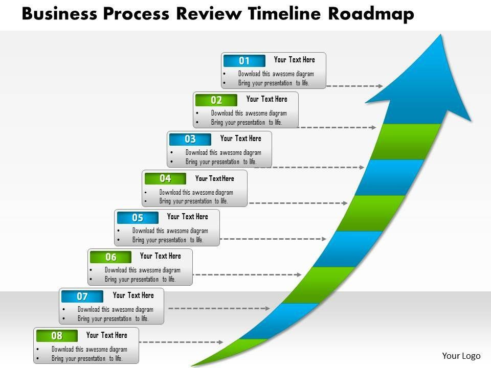 roadmap template powerpoint free download best roadmap templates ...