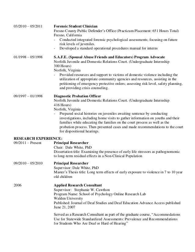Axlers CV for 2015