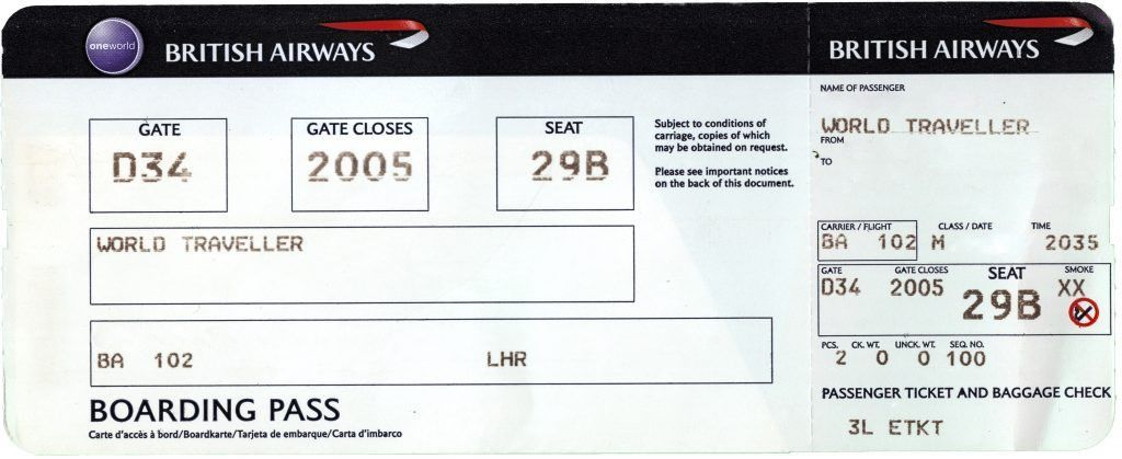 Fake Ticket Template Word Templates Sample Of A Payslip Airline ...