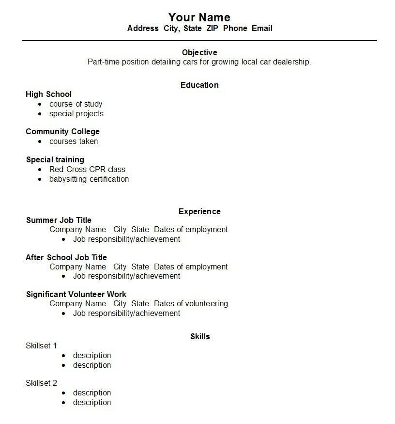 Resume Examples Student. Sample Student Internship Resume Template ...