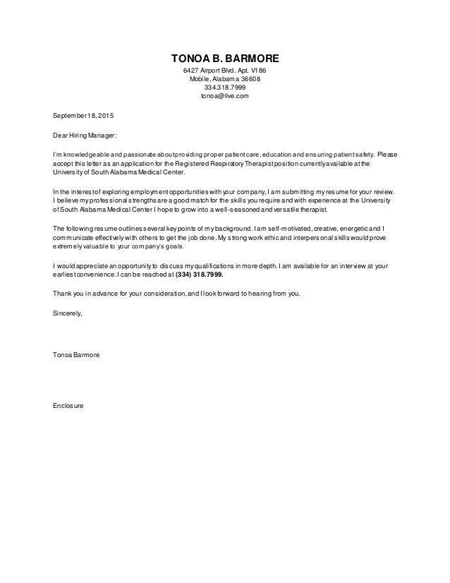 RRT Resume #1