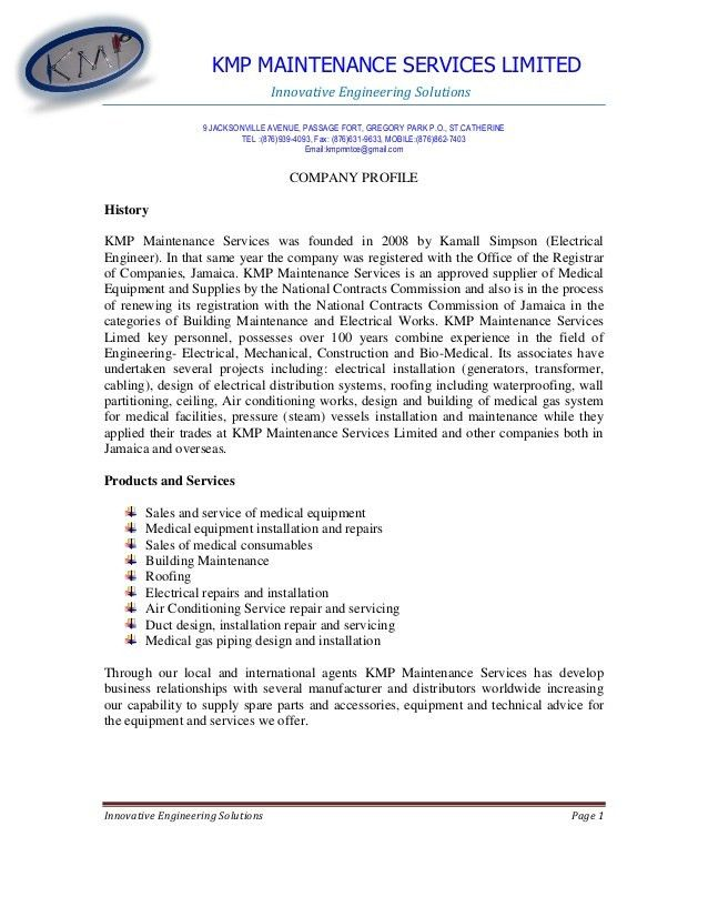 KMP company profile-1.doc