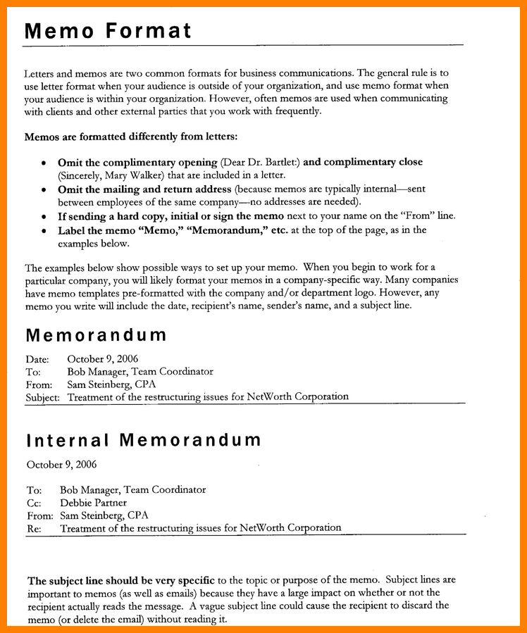 8+ memo form letter | portfolio covers
