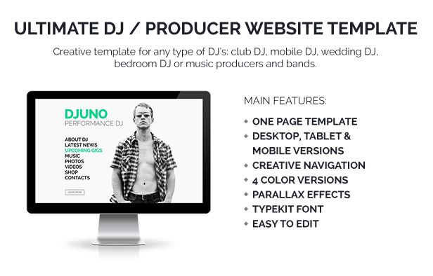 DJuno - Ultimate DJ / Producer Muse Template by vinyljunkie ...