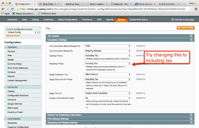 magento - Display shipping method amount including VAT on PDF ...