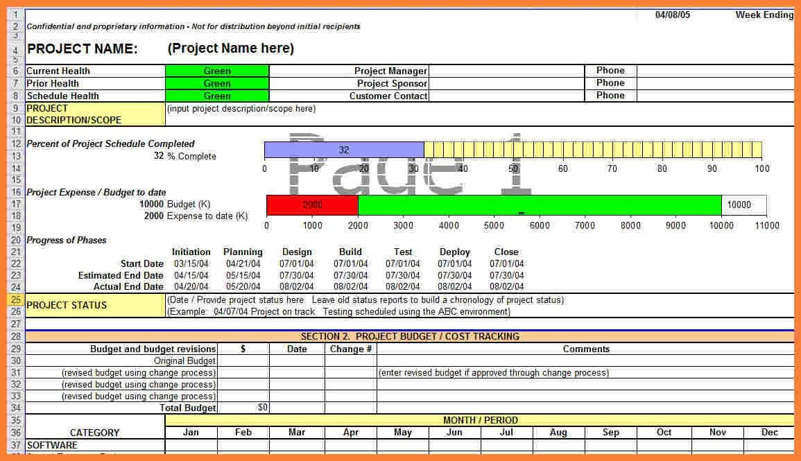 9+ progress report template for construction project | Progress Report