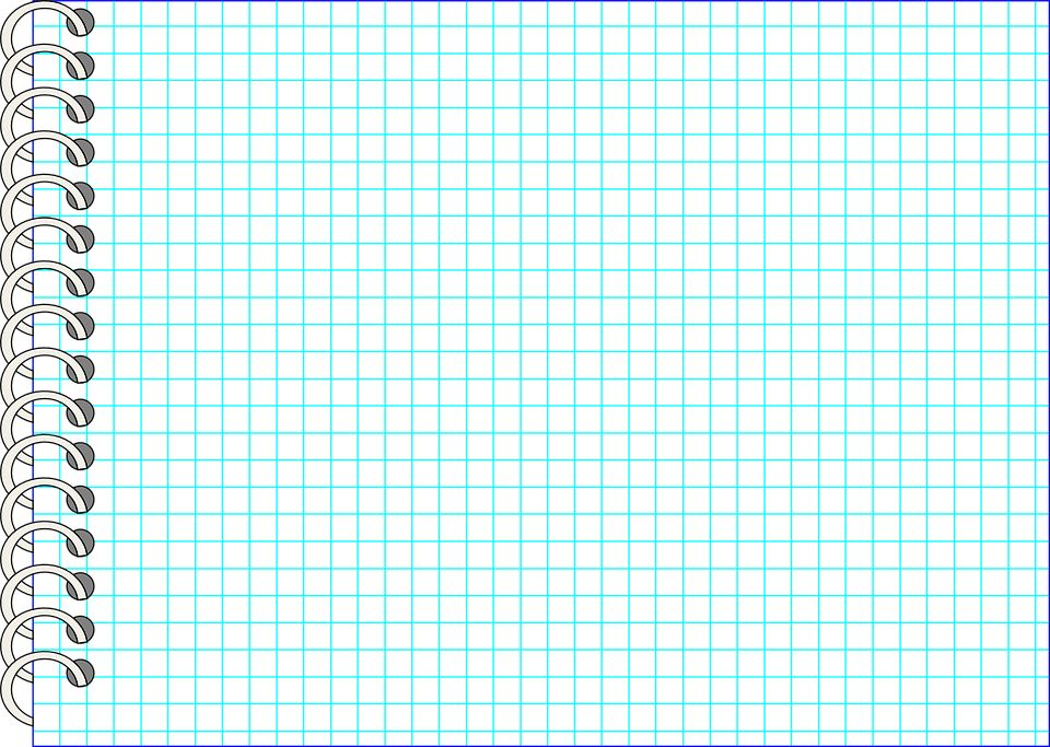 Free vector graphic: Paper, Checkered, Checked, Notebook - Free ...