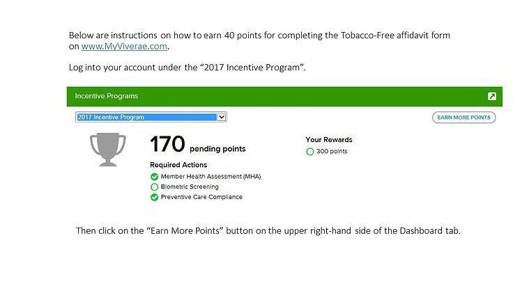 aquafit | Tobacco-Free Affidavit
