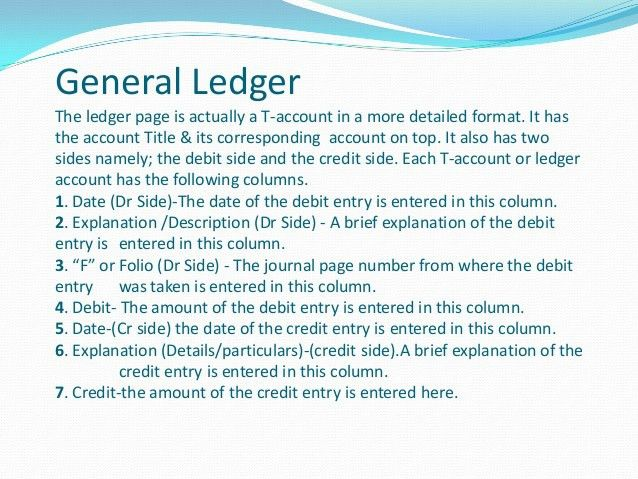General Ledger & Trail Balance