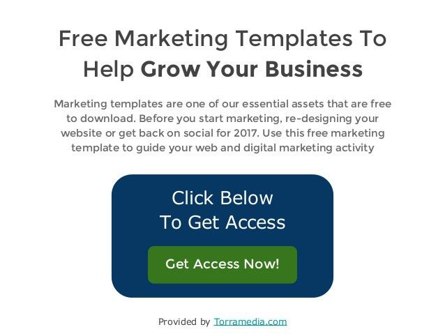 Sales Funnel Template 2017