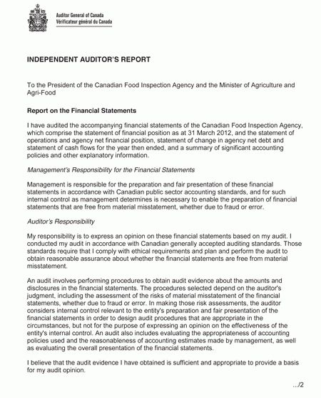 Section III - 2011-2012 Departmental Performance Report - About ...