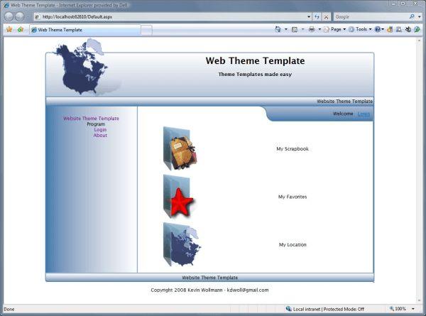 Web Theme Templates Creator - CodeProject