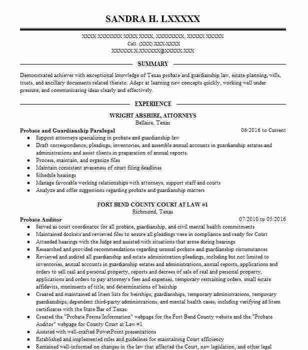 13 Amazing Law Resume Examples | LiveCareer