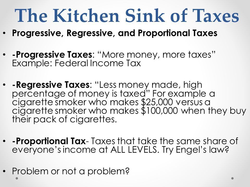 Chapter 14: Second Half State and Local Taxes/ Details About Taxes ...