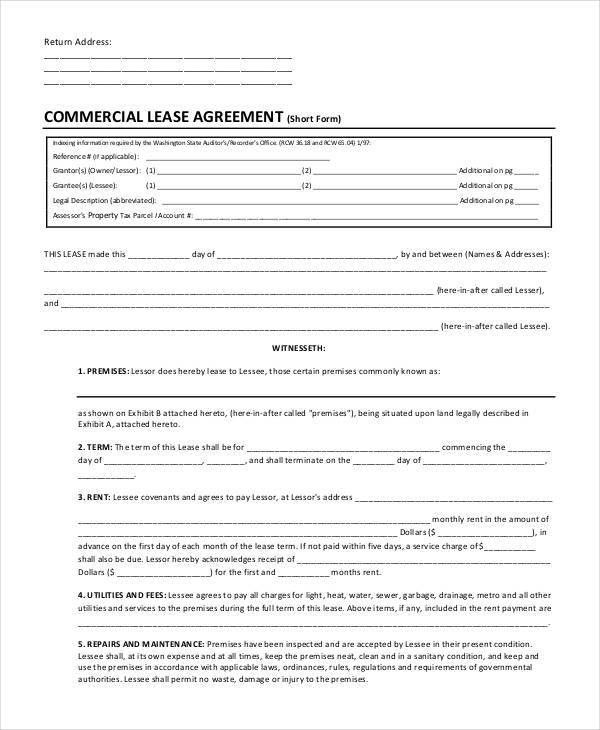 commercial tenant lease termination agreement. termination of ...