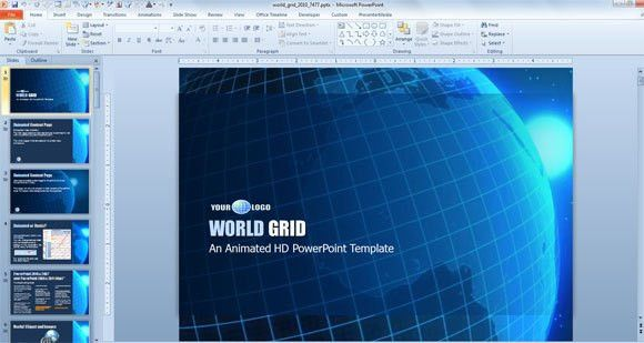 4 Examples of Awesome Professional PowerPoint Templates for ...