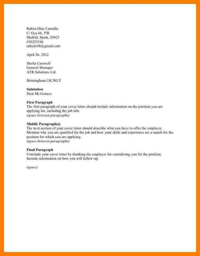 Cover Letter Resume And Salary Requirements | Resume Sample For ...