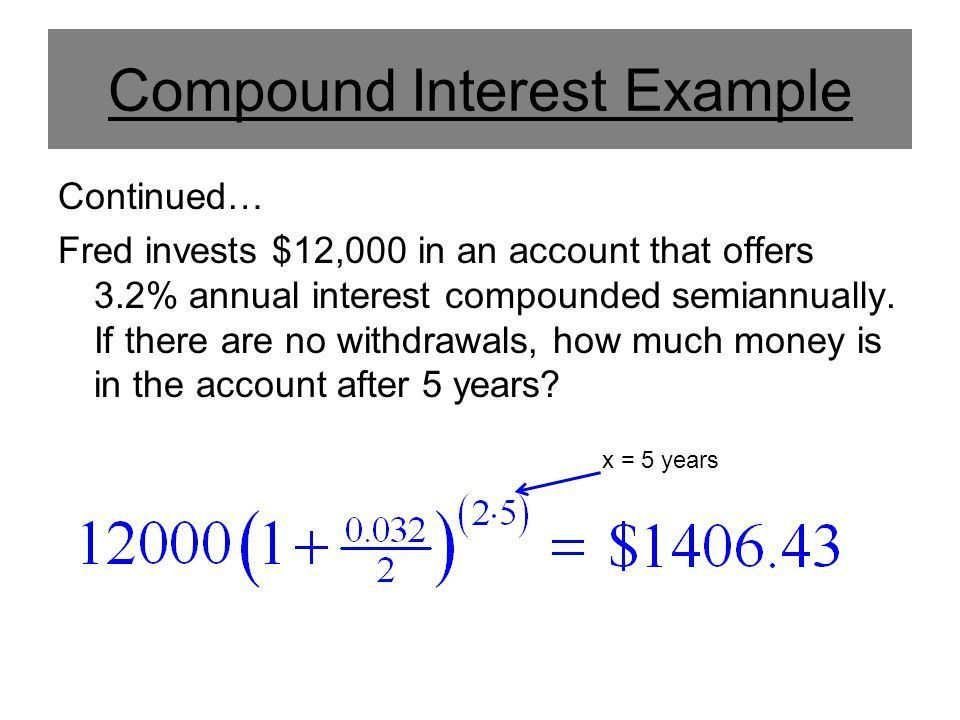 Compound Interest. - ppt video online download