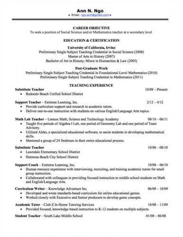 Download Sample Resume For Leadership Position ...
