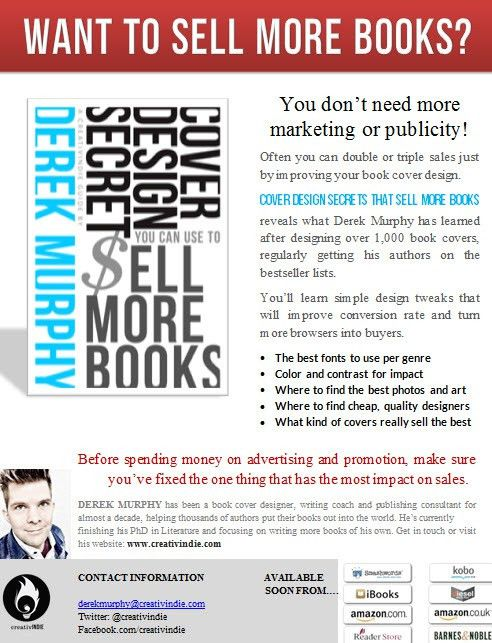 "How to make a ""sell-sheet"" for your book (with free templates ..."