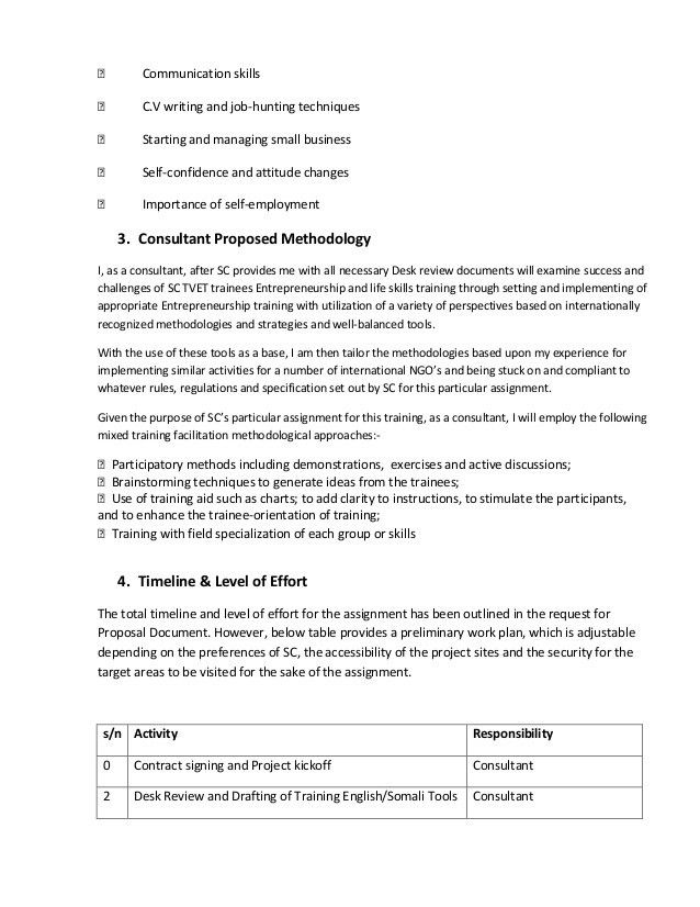 Consultant Proposal Template. Hr Consulting Proposal Template ...