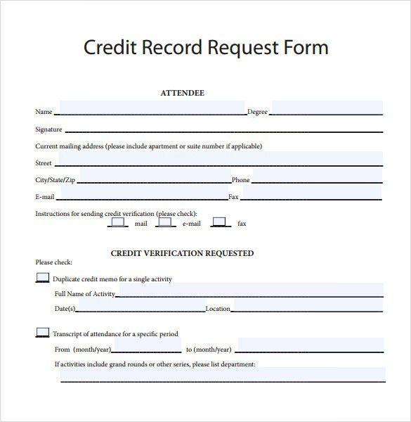 Sample Credit Memo - 7+ Documents In PDF, Word