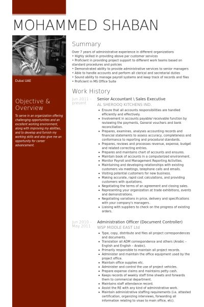 Exclusive Design Senior Accountant Resume 12 Senior Accountant ...